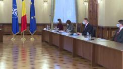 Consultările Președintelui României, Klaus Iohannis, cu partidele și formațiunile politice parlamentare - PNL, USR PLUS, UDMR