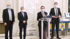 Declarație de presă susținută de Ludovic Orban, Președintele Partidului Național Liberal