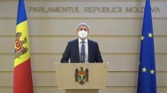 Briefing de presă susținut de deputatul PDM, Igor Vremea