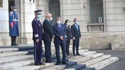 Ceremonia de predare-preluare a mandatului Ministrului Afacerilor Interne, Lucian Bode