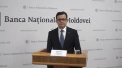 Briefing de presă susținut de Guvernatorul Băncii Naționale a Moldovei, Octavian Armașu