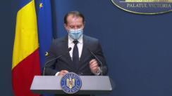 Conferință de presă după ședința Guvernului României din 28 decembrie 2020