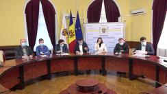 """Conferință de presă organizată de Fracțiunea PAS din CMC cu tema """"Poziția fracțiunii PAS din CMC privind Proiectul de Buget municipal-2021"""""""