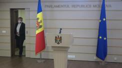 Briefing de presă susținut de deputatul PDM, Nicolae Ciubuc