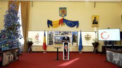 Conferință de presă susținută de Primarul municipiului Iași, Mihai Chirica, privind deciziile adoptate în CLSU