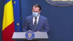 Conferință de presă după ședința Guvernului României din 30 decembrie 2020
