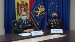 Briefing de presă organizat de Inspectoratul General al Poliției cu privire la măsurile de asigurare a ordinii publice și securității circulației rutiere în perioada sărbătorilor de iarnă