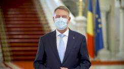 Mesajul Președintelui României, Klaus Iohannis, transmis cu prilejul Anului Nou