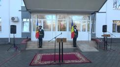 Ceremonia de donare a unul lot de medicamente și echipamente destinate combaterii pandemiei de COVID-19 din partea Ministerului Apărării Naționale din România