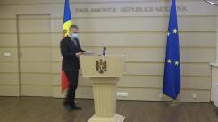 Briefing de presă susținut de deputatul Octavian Țîcu privind decizia Curții Constituționale referitoare la victimele represiunilor sovietice