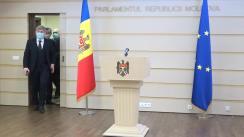 Briefing de presă susținut de Secretarul general al PDM, Alexandru Jizdan