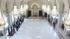 Ceremonie de decorare a unor personalități din domeniul culturii de către Președintele României, Klaus Iohannis