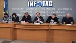"""Conferință de presă susținută de Radu Rebeja cu tema """"Alegerile la Federația Moldovenească de Fotbal"""""""