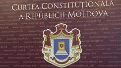 Briefing de presă susținut de Președintele Curții Constituționale a Republicii Moldova, Domnica Manole, privind declararea ca inadmisibilă sesizare 226b privind posibilitatea Parlamentului de a se autodizolva