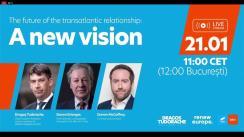 "Conferința ""The future of the transatlantic relationship: A new vision"""