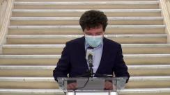 Declarație de presă susținută de Primarul General al Municipiului București, Nicușor Dan