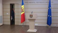 """Briefing de presă susținut de deputatul Partidului Politic """"ȘOR"""", Igor Himici"""