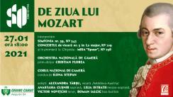 De Ziua lui Mozart. Concert la Sala cu Orgă