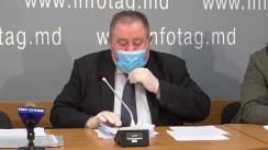 """Conferință de presă cu tema """"Adresarea Asociației Naționale pentru Protecția Creației Intelectuale (ANPCI) către Președintele Republicii Moldova Doamna Maia Sandu referitor la decizii ilegale, recent pronunțate de CSJ"""""""