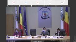 Ședința extraordinară a Consiliului General al Municipiului București din 29 ianuarie 2021