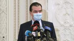 Declarații de presă susținute de președintele Camerei Deputaților, Ludovic Orban