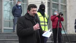 Protest împotriva distrugerii patrimoniului istorico-cultural al Chișinăului