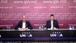 """Briefing de presă organizat de Calea Ferată din Moldova cu tema """"Planurile de modernizare a CFM"""""""