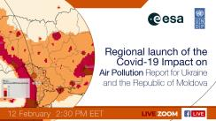 Regional launch of the Covid-19 Impact on Air Pollution Report for Ukraine and the Republic of Moldova