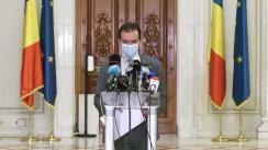Declarație de presă susținută de Președintele Camerei Deputaților, Ludovic Orban.