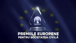 """Evenimentul online """"Premii Europene pentru Societatea Civilă - Comunități Mai Puternice"""""""