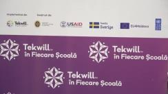 """Evenimentui de prezentare a programului """"Tekwill în fiecare școală"""" la Bălți"""