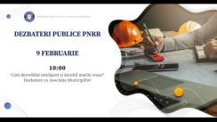 """Dezbateri publice organizate de Ministerul Investițiilor și Proiectelor Europene cu tema """"Cum dezvoltăm inteligent și durabil marile orașe?"""""""