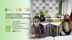 Inaugurarea claselor prietenoase tinerilor în 12 instituții de învățământ profesional tehnic