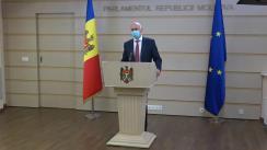 Declarațiile lui Pavel Filip în timpul ședinței Parlamentului Republicii Moldova din 11 februarie 2021