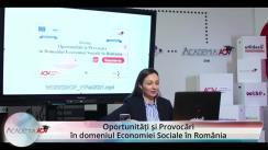 Workshop: Oportunități și Provocări în Domeniul Economiei Sociale în România
