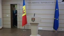 Briefing de presă susținut de Fracțiunea ACUM PLATFORMA DA în timpul ședinței Parlamentului Republicii Moldova din 11 februarie 2021