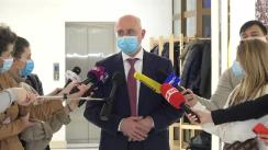 Declarațiile Președintelui PDM, Pavel Filip, după consultările Președintelui Republicii Moldova, Maia Sandu, cu fracțiunile parlamentare