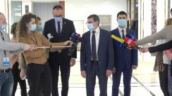 Declarația fracțiunii Partidului Acțiune și Solidaritate după consultările Președintelui Republicii Moldova, Maia Sandu, cu fracțiunile parlamentare