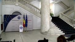 Conferință de presă susținută de Ministrul Justiției, Stelian Ion