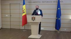 Declarațiile lui Andrian Candu în timpul ședinței Parlamentului Republicii Moldova din 12 februarie 2021