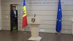 Declarațiile lui Vasile Bolea în timpul ședinței Parlamentului Republicii Moldova din 12 februarie 2021