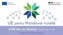 """LIVE Tour """"UE pentru Moldova Rurală"""": Cunoaște istoria de succes a beneficiarei Femei în Afaceri, Irina Bordian din or. Rezina"""