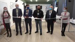 Inaugurarea secției de formare continuă a Centrului de Excelență în Horticultură și Tehnologii Agricole din satul Țaul, raionul Dondușeni