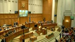 Ședința în plen a Camerei Deputaților României din 15 februarie 2021
