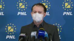 Declarații de presă după ședința Biroului Executiv al Partidului Național Liberal din 15 februarie 2021