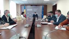 Audieri publice organizate de Comisia economie, buget și finanțe pe subiectul proprietăților Republicii Moldova în Ucraina