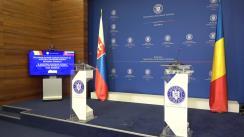 Declarații de presă ale Ministrului Afacerilor Externe din România, Bogdan Aurescu, și Ministrul Afacerilor Externe și Europene al Republicii Slovacia, Ivan Korčok