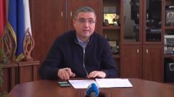 Conferință de presă susținută de Renato Usatîi privind noile restricții impuse de Comisia Națională Extraordinară de Sănătate Publică și decizia Curții Constituționale privind candidatul la funcția de prim-ministru