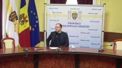 Conferință de presă susținută de Primarul general al municipiului Chișinău, Ion Ceban, cu privire la achiziționarea autobuzelor pentru municipiul Chișinău