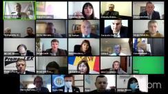 """Conferința de analiză post-electorală cu tema """"Alegeri prezidențiale în Republica Moldova 2020: analiză, concluzii, recomandări și pași de urmat """", organizată de Comisia Electorală Centrală a Republicii Moldova"""